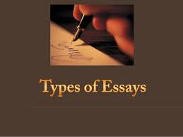 Types Of Academic Essays - Amexwrite, Inc