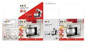 Máy nhồi bột UNIE M2 đa năng - Kiêm đánh trứng 5L - UNIE