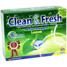 Отзывы о <b>Таблетки для</b> посудомоечных машин <b>Clean&Fresh</b>