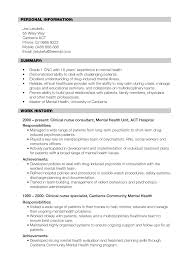 Mental Health Professional Resume Sample Amusing Occupational Therapy Resume New Grad About Sample Ot Example 23