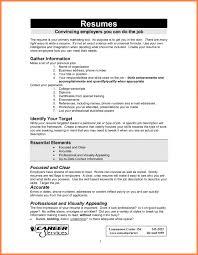 How To Make A Work Resume How Make Resume For Job Resume Templates Teenager How To Write Cv