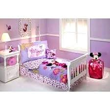 Minnie Mouse Bedding Set Bedroom For Toddlers Flower Garden Piece ...