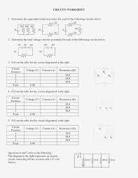 91+ Simple Circuit Diagram Worksheet - Circuit Diagram Worksheet ...