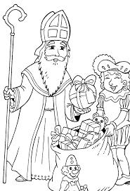 Sinterklaas Kleurplaten 98 Sint En Piet Kleurplaten