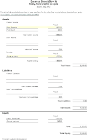 Projected Balance Sheet In Excel Business Plan Balance Sheet Template