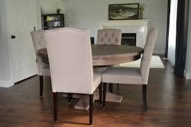 charming restoration hardware round dining table in style planting sequoias