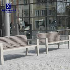 custom design outdoor metal bench seat