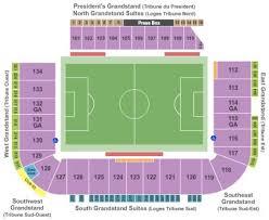 Stade Saputo Tickets And Stade Saputo Seating Chart Buy
