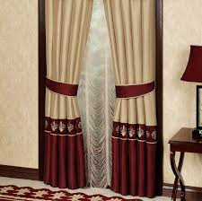 burdy and gold curtains more