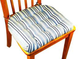 kitchen chair cushions with ties amazing pads dining regard to 19