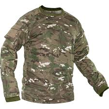 Ocp Pattern New Valken KILO Combat Ripstop Moisture Wicking Shirt OCP Multicam