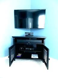 stand mounted corner wall mount tv corner