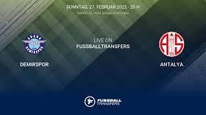 Demirspor vs Antalya 27. Spieltag Süper Lig 2021/2022 27/2 im Liveticker