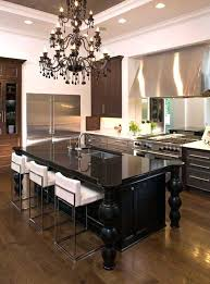 kitchen table chandelier elegant and sumptuous black crystal chandeliers blac kitchens with chandeliers