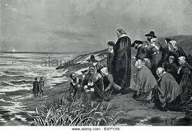 Image result for mayflower pilgrims praying