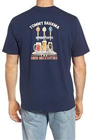 Amazon Com Tommy Bahama Mens Beer Necessities Tee Navy
