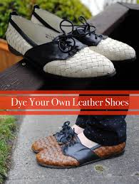 into ing inexpensive or even second hand shoes and using leather dye to spruce them up it s such an easy way to give a new life to a pair of shoes