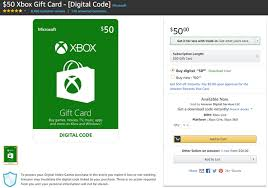 Microsoft Giftcard 2 Ways To Buy Xbox One Games Using Your Amazon Gift Card