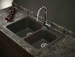 luxurious rustic double bowl undermount kitchen sink