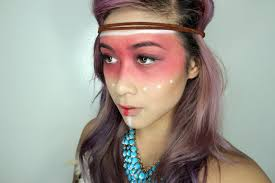 pocahontas inspired makeup look l beautybyshannonle