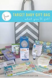 target gift registry free baby gift bag 70 value
