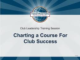 Charting The Course Theme 1311c Club Leadership Training Session Charting A Course For