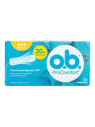 <b>Тампоны</b> procomfort normal 32 шт o.b. 5081421 в интернет ...