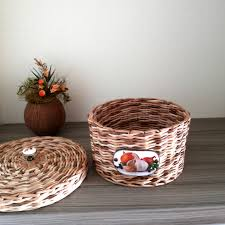 Onion Garlic basket Potato bin Wicker kitchen garlic holder Onion ...
