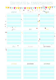 Yearly Calendar Template Excel Month Source Annual Training Birthday ...