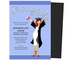 Graduation Party Announcement Graduation Party Invitations Templates Commencement Graduation