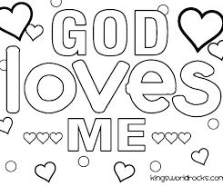 God Made Me Coloring Pages Trustbanksurinamecom