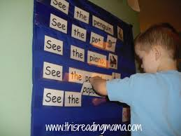 Building Sentences In Pocket Chart This Reading Mama