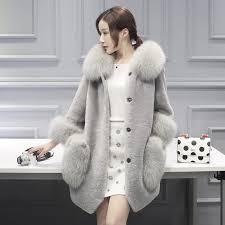 best beautiful coats women fur coat natural long vest real fox gilet winter high quality women coat mink tail fur coat under 61 31 dhgate com