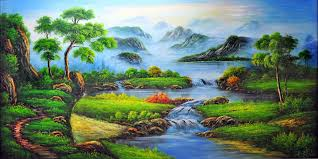 paintings of nature scenes photo 8 get artistic interiors with just a