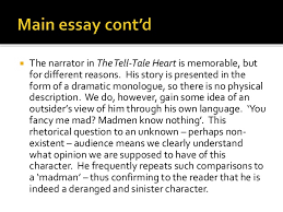 writing an intro lit qn essay 7 iuml130iexcl the narrator in the tell tale heart