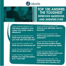 how to answer job interview questions 100 interview questions and answers jobzella