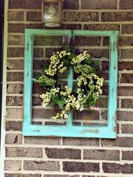 a frame beautifies a brick wall homebnc
