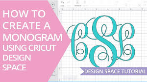 Monogram Font On Cricut Design Space How To Make A Monogram In Cricut Design Space