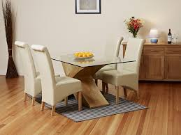 glass and oak dining tables uk. glass dining room chairs with good table and uk contemporary oak tables g