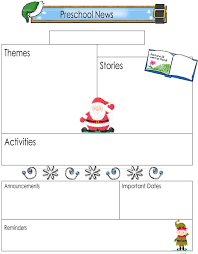 Teachers Newsletter Templates 16 Preschool Newsletter Templates Easily Editable And