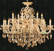 aliexpress svitz gold led candle chandelier lighting for for amazing residence crystal gold chandelier designs