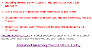 Cover Letters Advice Articles