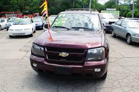 2006 Chevrolet Trailblazer LT Burgundy Used SUV Sale