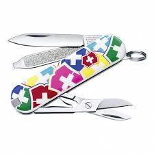 <b>Нож</b>-<b>брелок</b> 58мм Classic <b>VX Colors</b> 7 функций 0.6223.841 ...