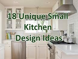 18 unique small kitchen design ideas