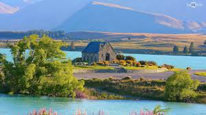 Lake Tekapo in New Zealand HD wallpaper