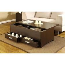 dark espresso coffee table dark espresso living room furniture coffee table with storage box 2 drawers