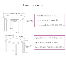 rectangle table size sizes for weddings dining round dimensions 8 room height cm rectangle table size