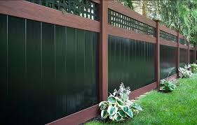Image Residential Homes Marilaneco Wood Grain Vinyl Fences Nj