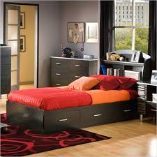 kids twin beds with storage. Kids Full Bed With Storage Cosmos Twin Bookcase Set In Black Finish Houses Beds
